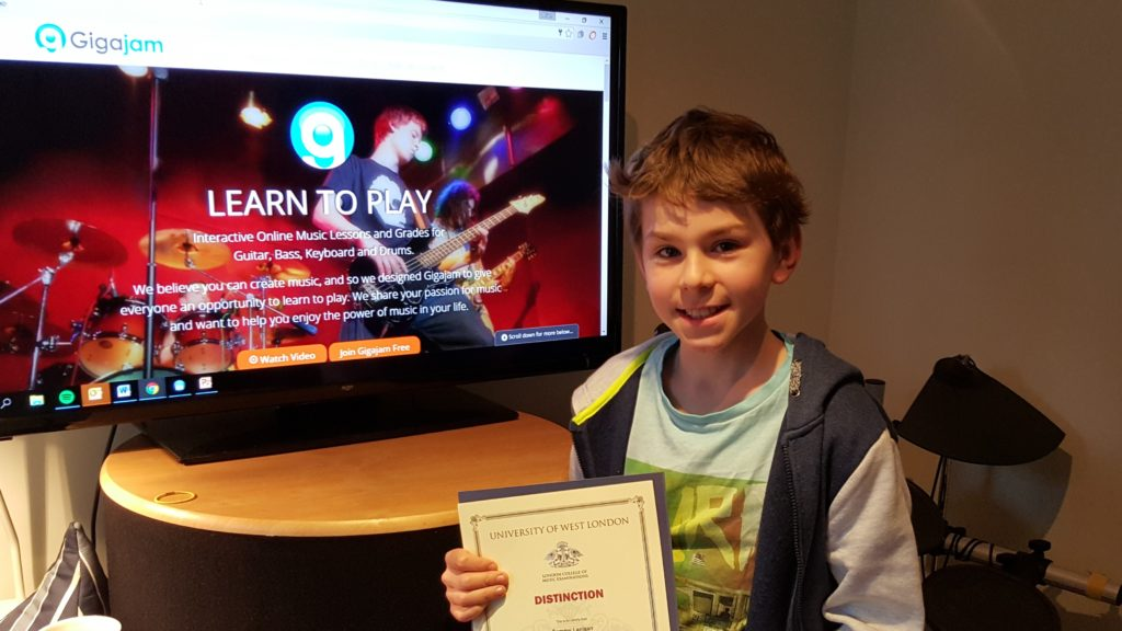 Graded Music Exams Online with Gigajam