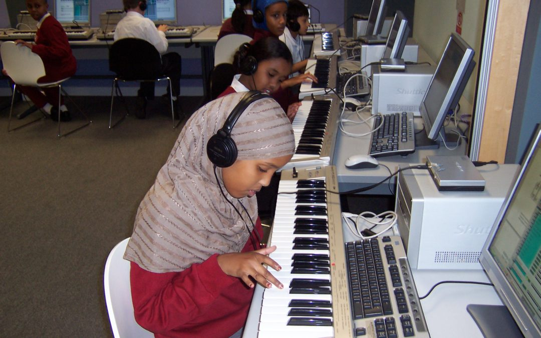 Education on Fire spotlights Gigajam classroom music resources