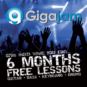 Gigajam Online Music School added value content for music industry and media partners